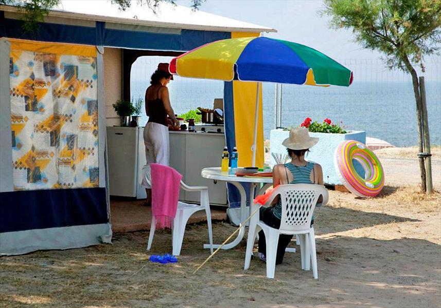 Camping Le Petit Mousse in Vias is een kindvriendelijke camping in Frankrijk