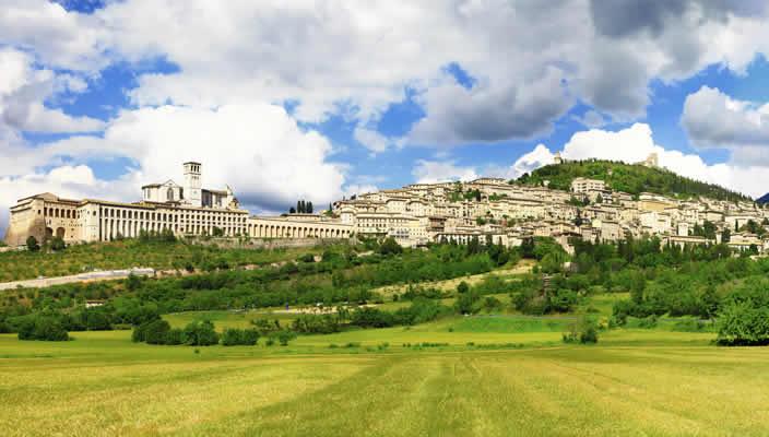 Assisi vakantie Umbrië