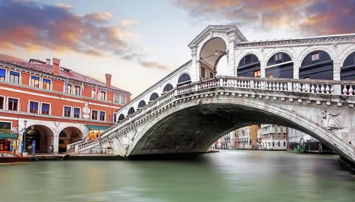 Genieten in Venetië