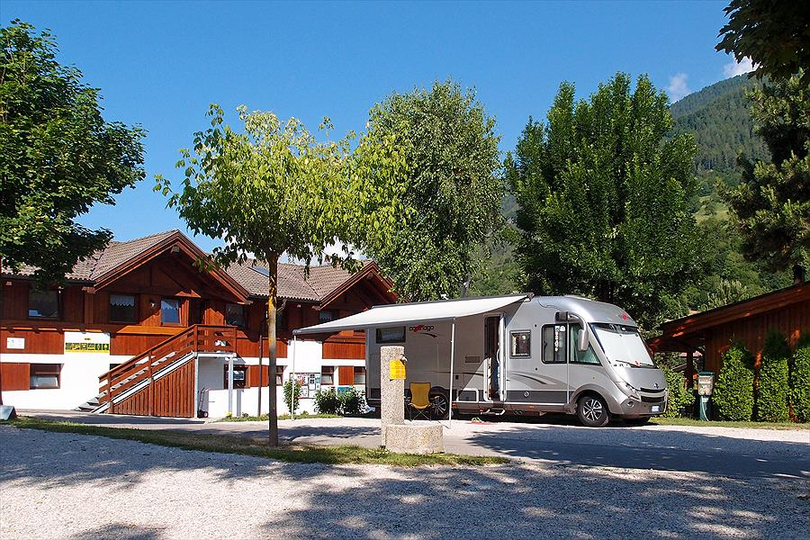 Dolomiti Camping Village bij Dimaro-Folgarida (Trentino)