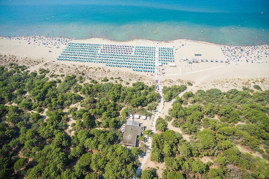 Camping Cieloverde bij Marina di Grosseto (Grosseto)