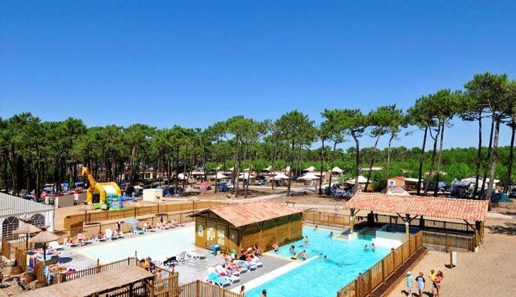Aanbiedingen en korting Camping Campéole Les Tourterelles Vielle-Saint-Girons