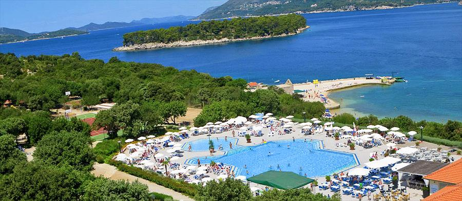 Solitudo Sunny Resort in Dubrovnik is een kindvriendelijke camping in Kroatië
