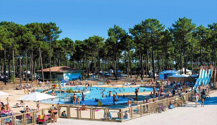 Aanbiedingen en korting Camping Campéole Médoc Plage Montalivet-les-Bains
