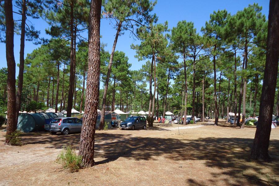 Camping Campéole Médoc Plage bij Montalivet-les-Bains (Gironde)