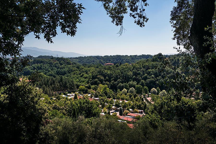 Camping Norcenni Girasole Club bij Figline Valdarno (Florence)