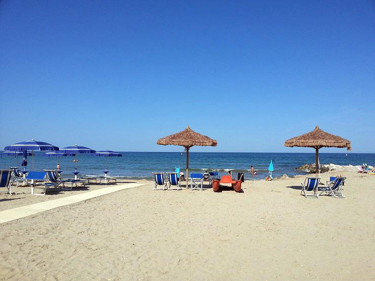 Stork Camping Village in Cologna Spiaggia is een kindvriendelijke camping in Italië