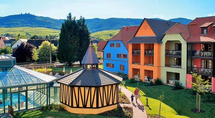 Vakantiepark Le Clos d'Eguisheim, Elzas