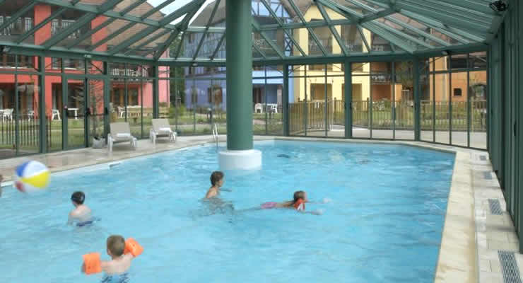 Faciliteiten en zwembad Residentie Le Clos d'Eguisheim