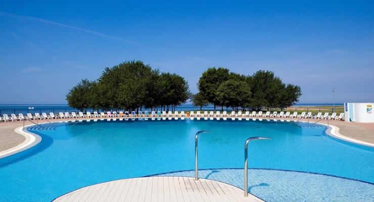 Luxe vakantiepark Residentie Soll Katoro Kroatië