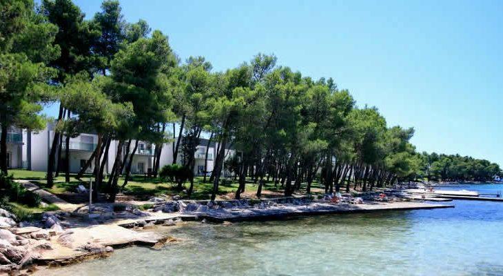Crvena Luka appartementen en luxe villa's Umag, Istrië