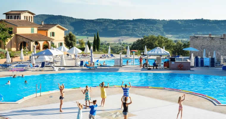 Zwembad Residentie Pian dei Mucini