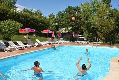 Camping International in Seyssel is een kindvriendelijke camping in Frankrijk