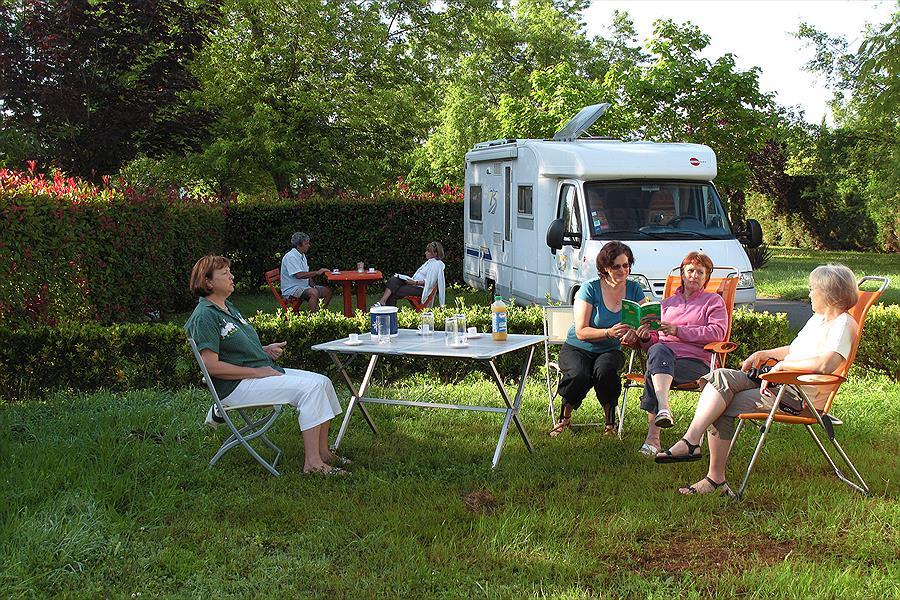 Camping Sites & Paysages Lou P'tit Poun in Saint-Martin-de-Seignanx is een kindvriendelijke camping in Frankrijk