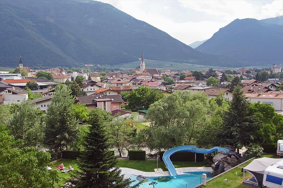 Camping Latsch bij Latsch (Zuid-Tirol)