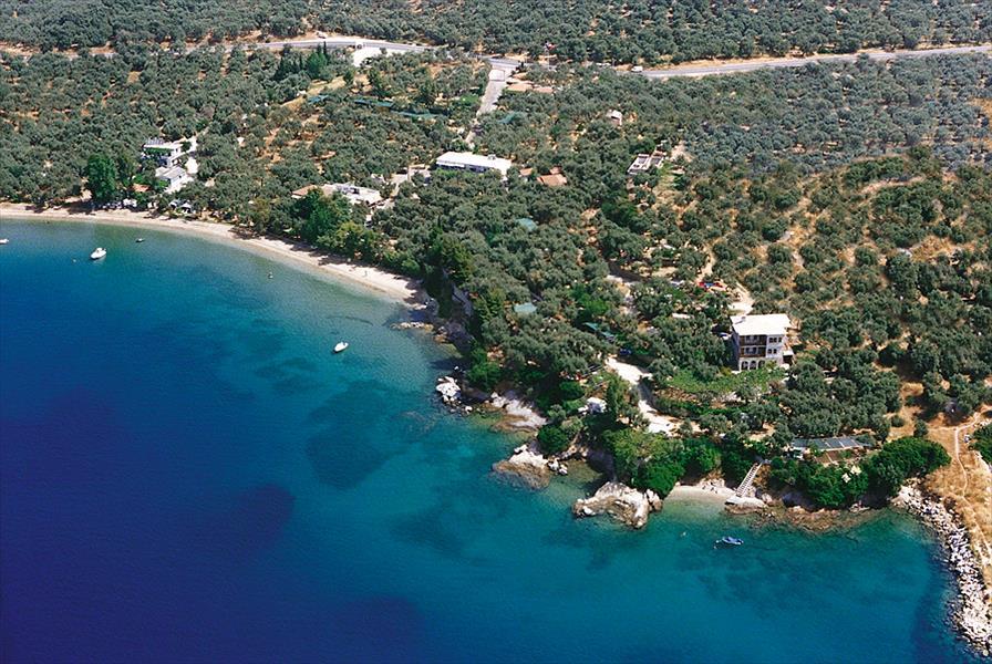 Camping Sikia in Káto Gatzéa is een kindvriendelijke camping in Griekenland