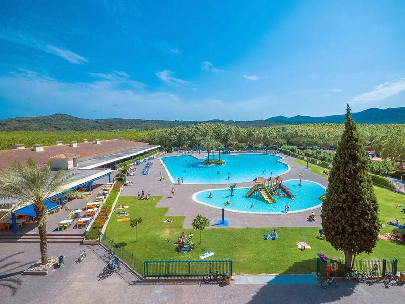 Camping Mas St. Josep in Santa Cristina d'Aro is een kindvriendelijke camping in Spanje
