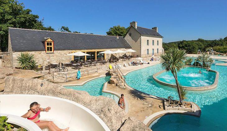 Aanbiedingen en korting Camping Domaine de L'Orangerie de Lanniron Quimper