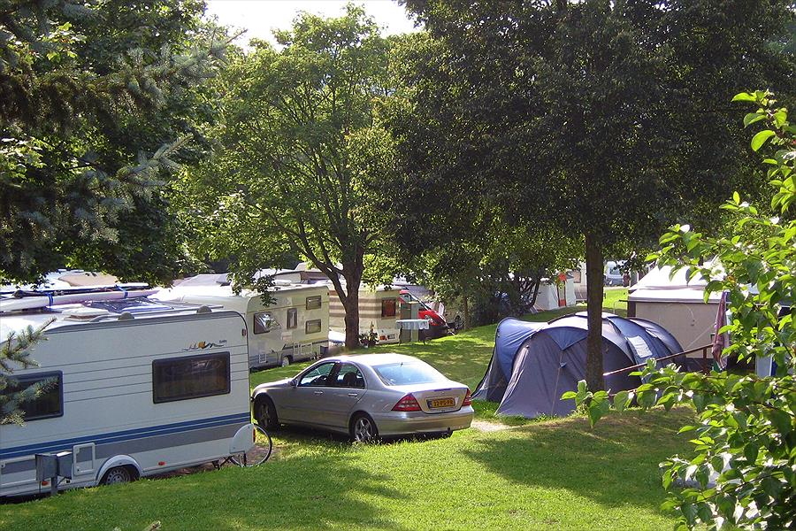 Camping Main-Spessart-Park bij Lengfurt (Beieren)
