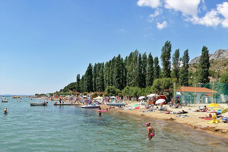Camping Galeb bij Omiš (Split-Dalmatië)