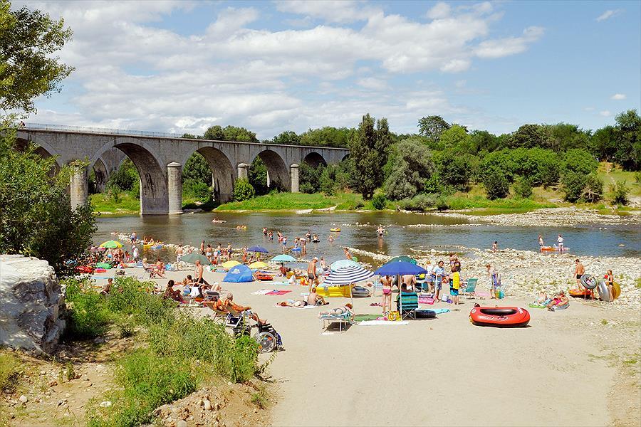 Camping RCN La Bastide en Ardèche in Sampzon is een kindvriendelijke camping in Frankrijk