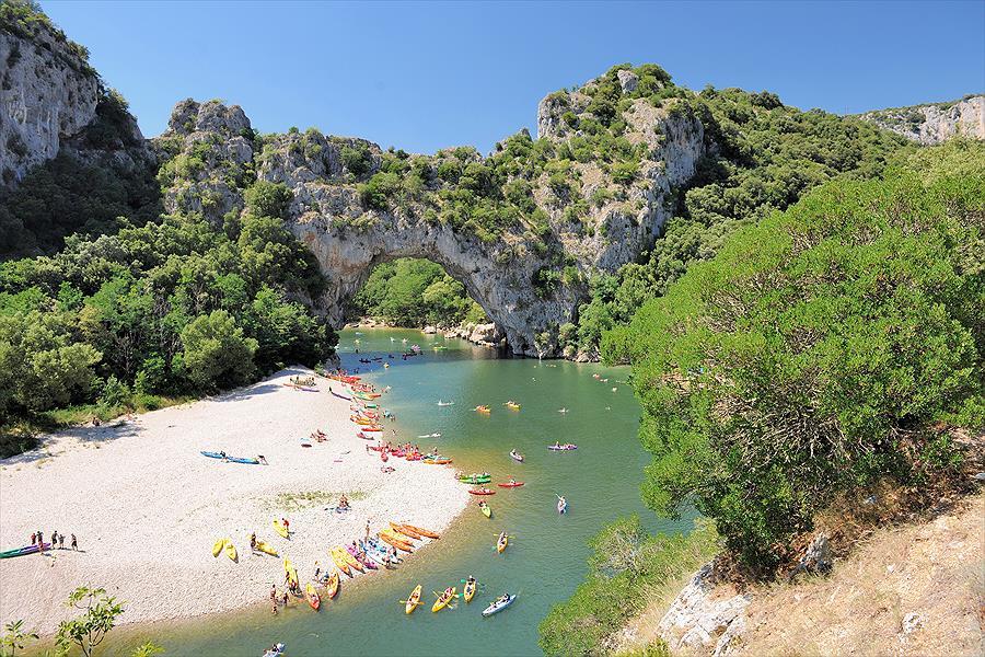 Camping RCN La Bastide en Ardèche bij Sampzon (Ardèche)