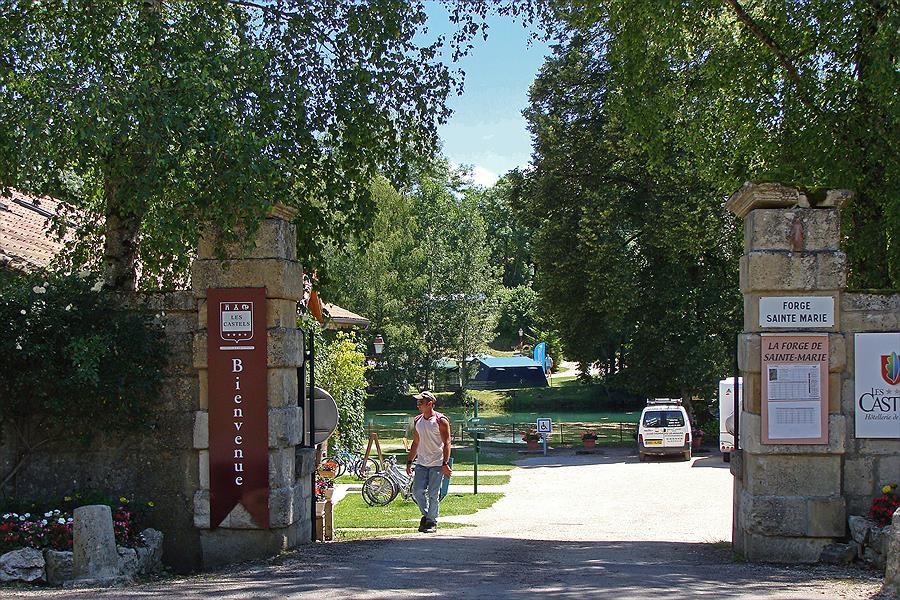 Camping La Forge de Ste Marie in Thonnance-les-Moulins is een kindvriendelijke camping in Frankrijk