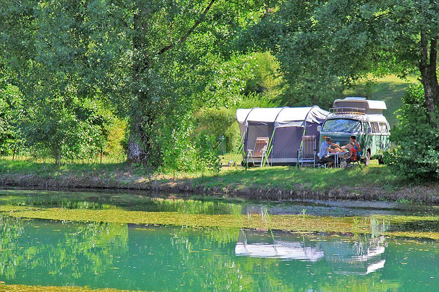 Camping La Forge de Ste Marie bij Thonnance-les-Moulins (Haute-Marne)