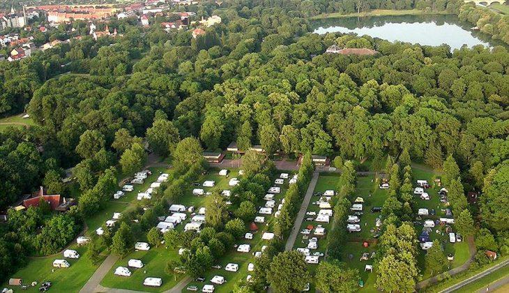 Aanbiedingen en korting Camping Knaus Campingpark Leipzig Auensee Leipzig