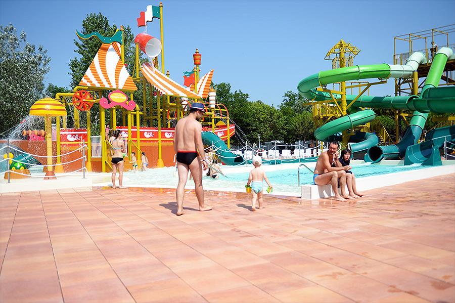 Camping Spiaggia e Mare bij Porto Garibaldi (Ferrara)