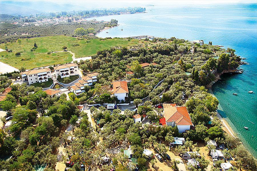 Camping Sikia bij Káto Gatzéa (Thessalië)