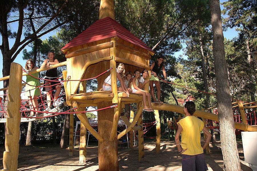Camping Sabbiadoro in Lignano Sabbiadoro is een kindvriendelijke camping in Italië