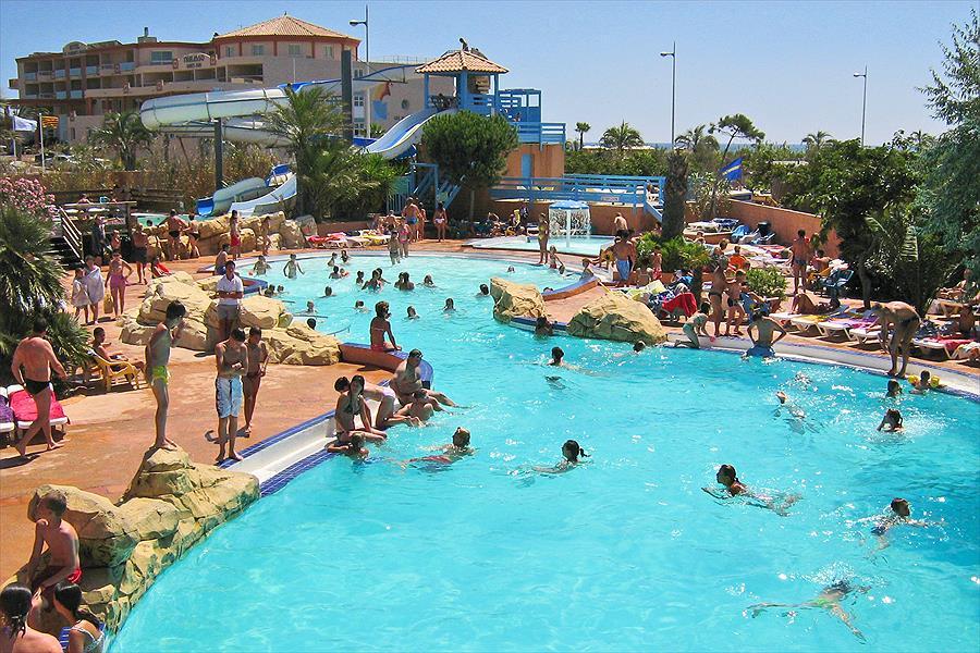 Camping Mar Estang in Canet-en-Roussillon is een kindvriendelijke camping in Frankrijk