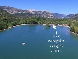 Aanbiedingen en korting Camping Les Rives du Lac Veynes