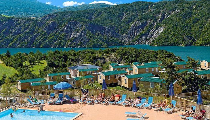 Aanbiedingen en korting Camping Odalys Les Berges du Lac Le Lauzet-Ubaye