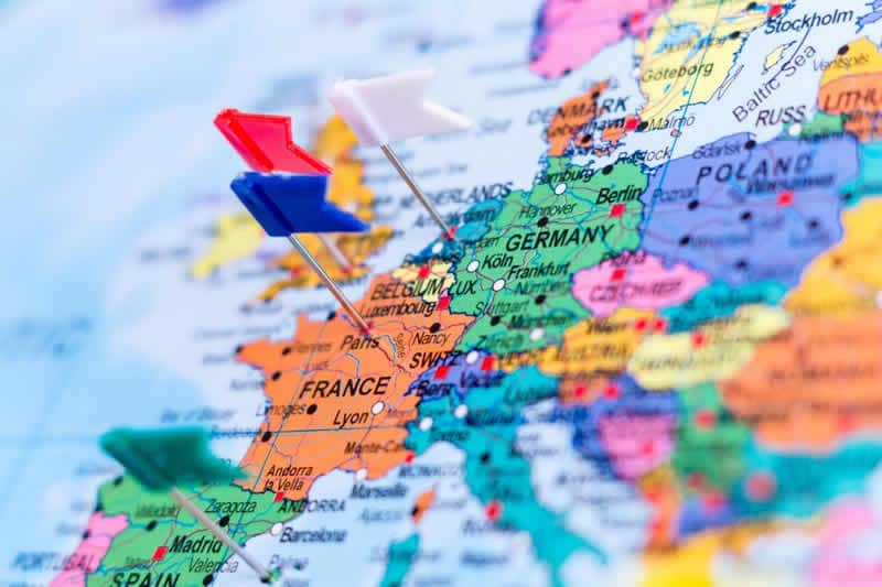 PLan een rondreis in Europa