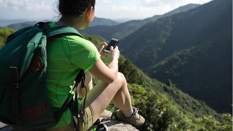Wandel-apps maken wandelen leuker