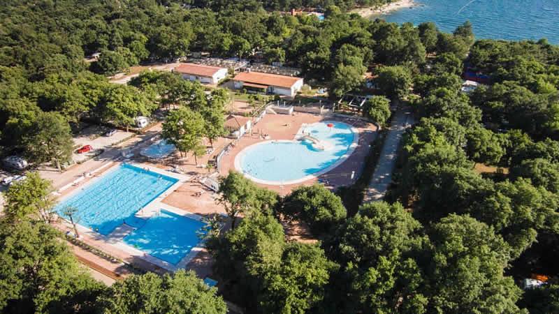 Glamping op luxe campings in Kroatië