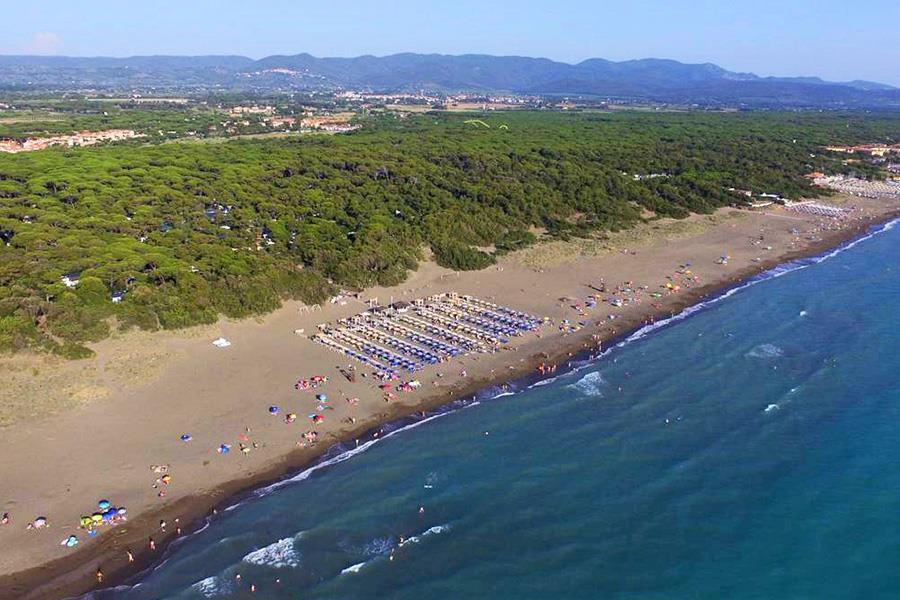 Aanbiedingen en korting Int. Camping Etruria Marina di Castagneto