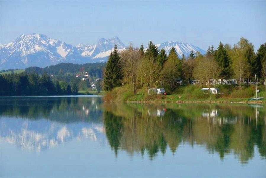 Via Claudia Camping in Lechbruck is een kindvriendelijke camping in Duitsland