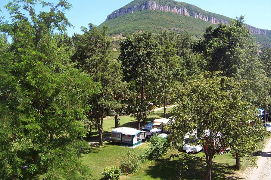 Camping Huttopia Millau bij Millau (Aveyron)