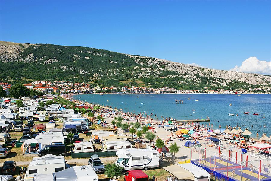 Aanbiedingen en korting Baška Beach Camping Resort Baška