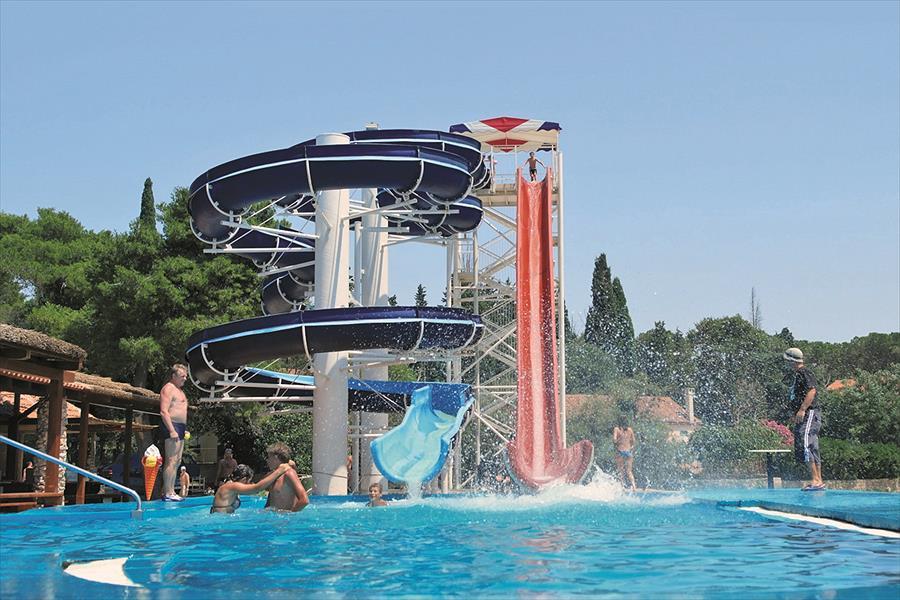 Camping Park Soline in Biograd na Moru is een kindvriendelijke camping in Kroatië