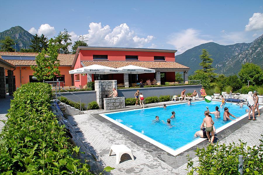 AZUR Sportcamping Rio Vantone bij Idro (Brescia)