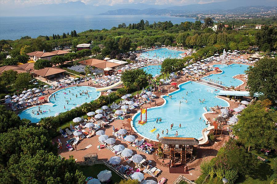 Camping Piani di Clodia in Lazise is een kindvriendelijke camping in Italië