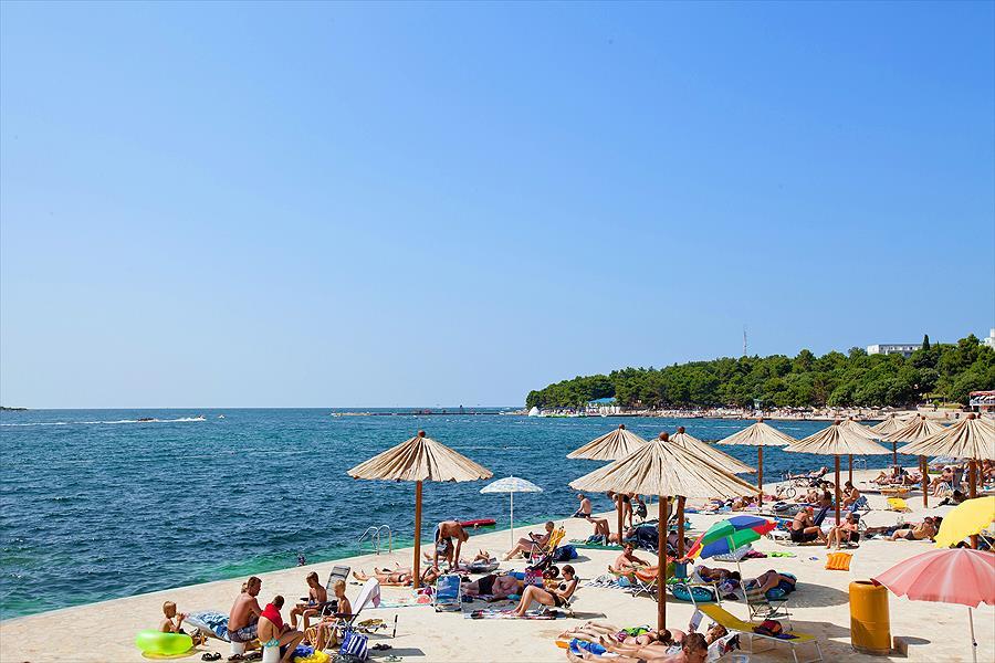 Camping Zelena Laguna bij Poreč (Istrië)