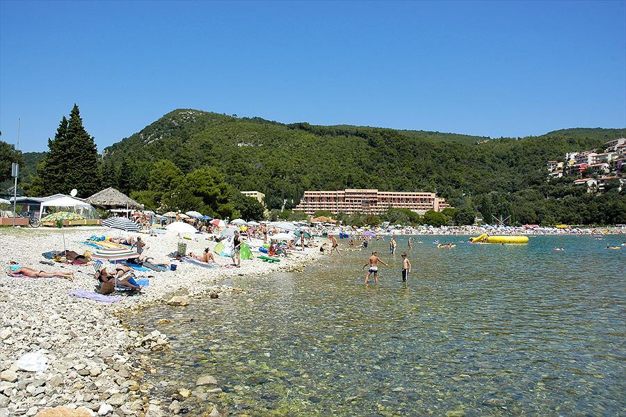 Camping Autocamp Oliva bij Rabac (Istrië)