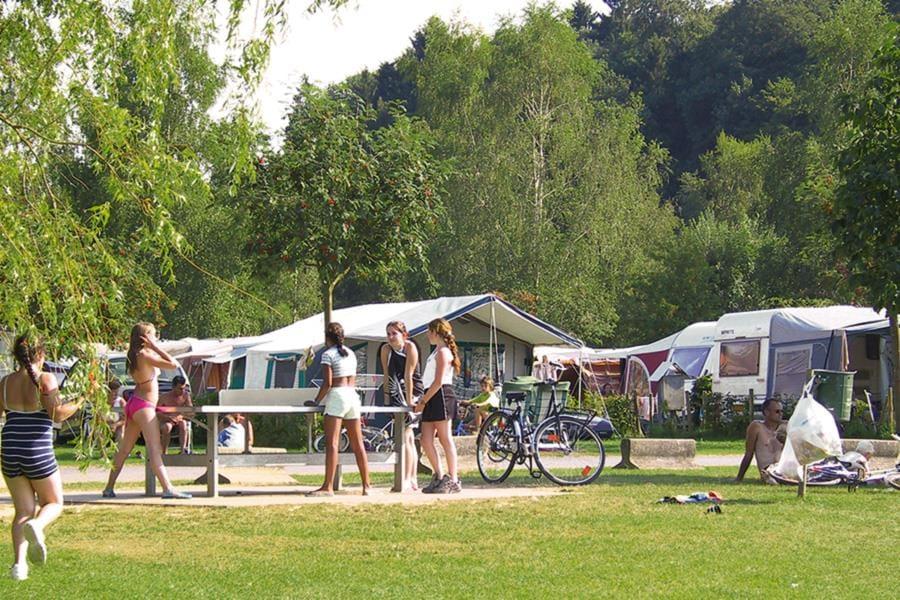 Camping Le Val de l'Aisne bij Blier (Luik)