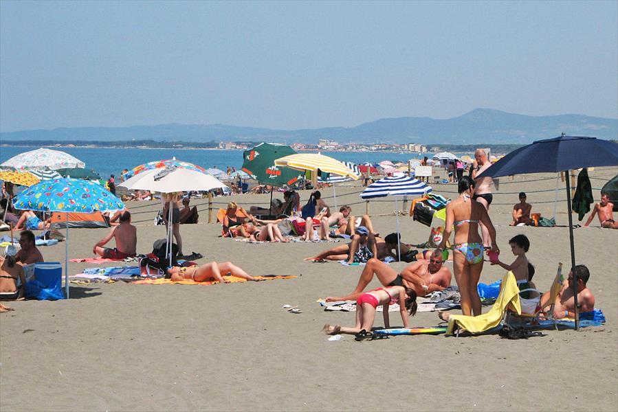 Camping Free Beach bij Marina di Bibbona (Livorno)