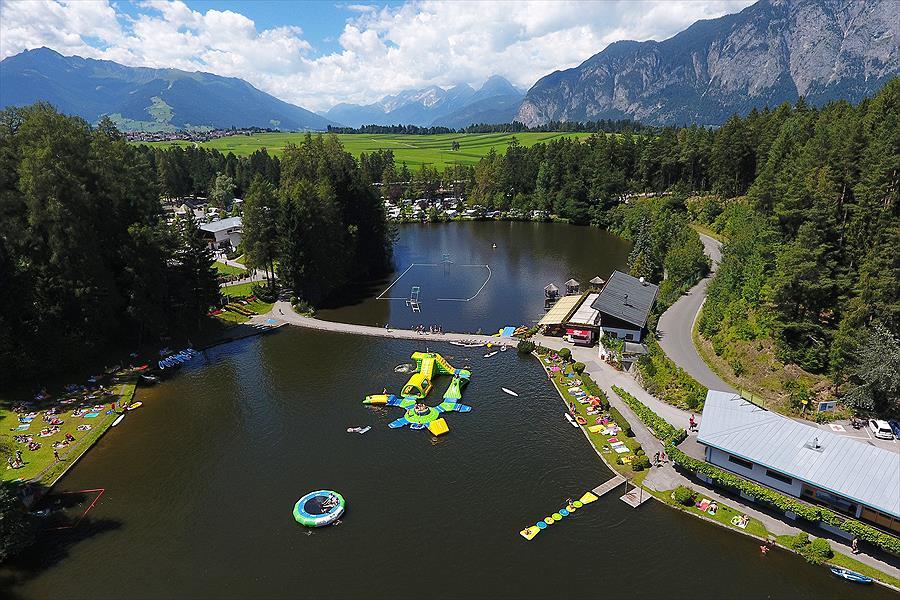 Camping Ferienparadies Natterer See in Natters is een kindvriendelijke camping in Oostenrijk